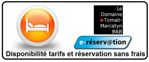 Domaine Tomali-Manyatin Cantons-de-l'Est Réservation