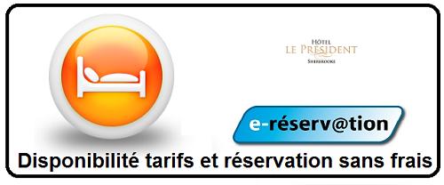 Hotel Le Président Cantons-de-l'Est Réservation