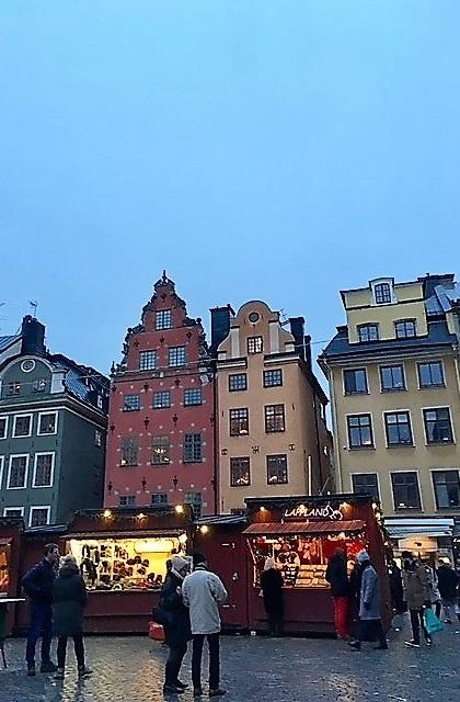 Marché de Noel de Gamla Stan - Stockholm