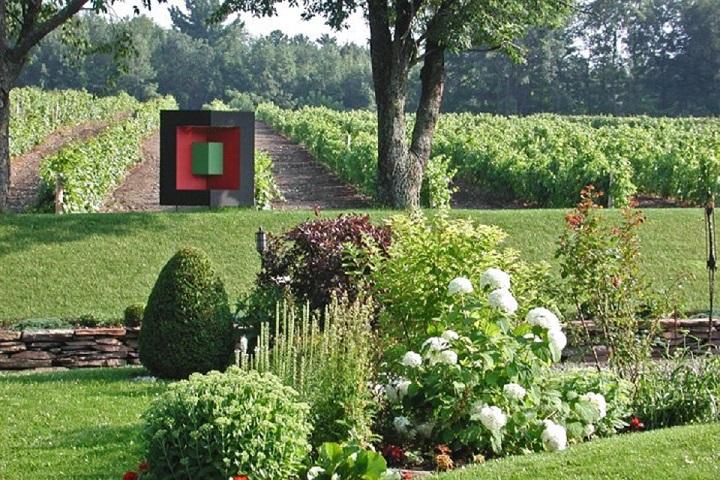 Vignoble Domaine Cotes d'Ardoise tourisme du vin – Zone Viticole Dunham - St-Armand Cantons de l'Est