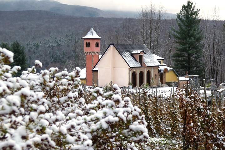 Visite du vignoble chapelle ste-agnès Cantons de l'Est