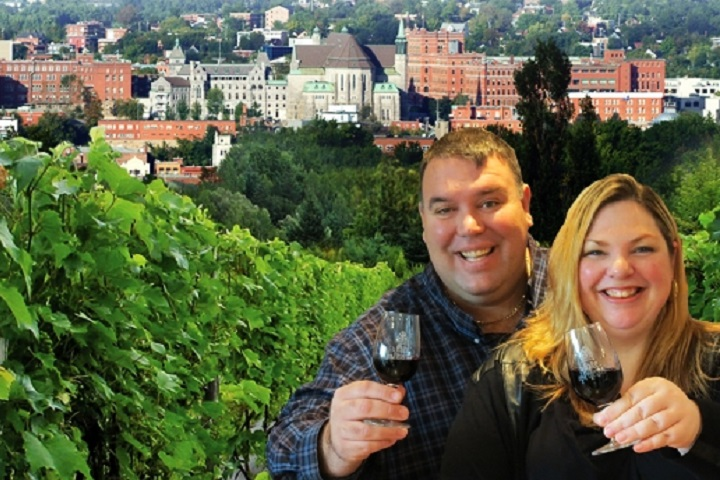 Visite de vignobles Sherbrooke Cantons-de-l'Est