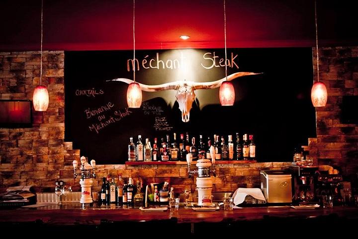 Méchant Steak Magog - Meilleurs restos, bistros, apportez votre vin des Cantons de l'Est