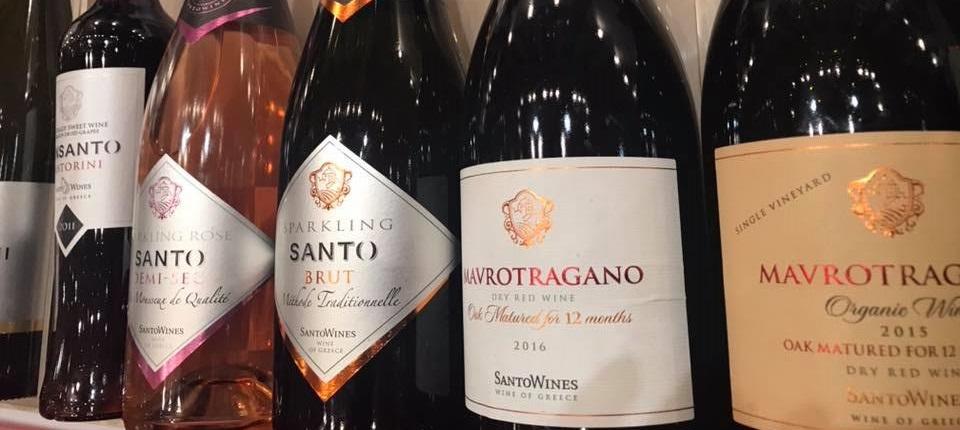 SantoWines domaine viticole coopératif Santorini