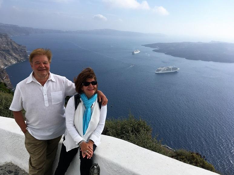 Santorini blogue oenotourisme André Giroux blogueur-blagueur VINDICI