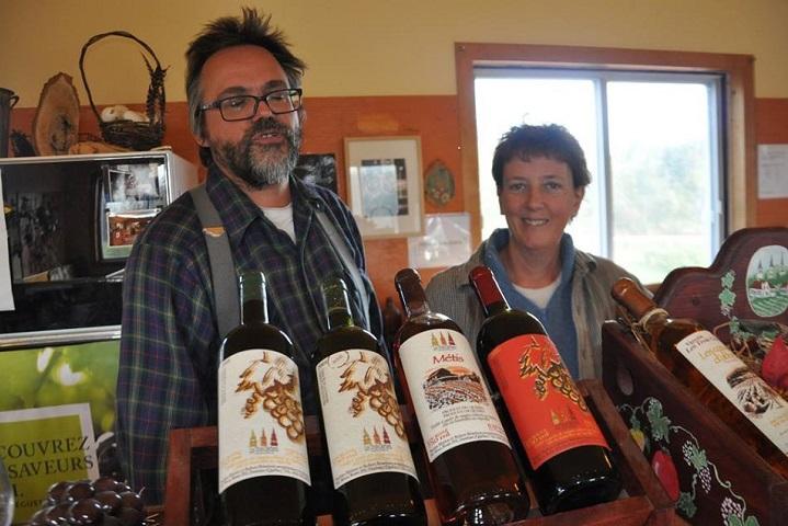 Vignoble Les Trois Clochers tourisme du vin – zone viticole Dunham – St-Armand Cantons de l'Est