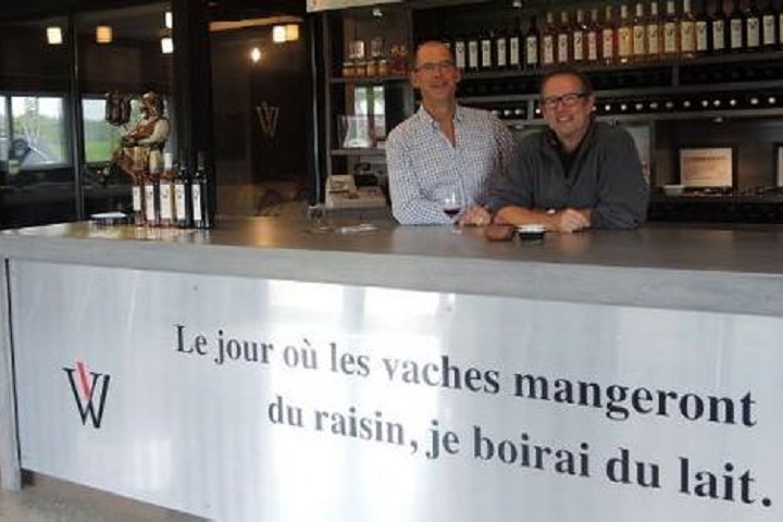 Visite de vignoble Les Vallons de Wadleigh Cantons-de-l'Est