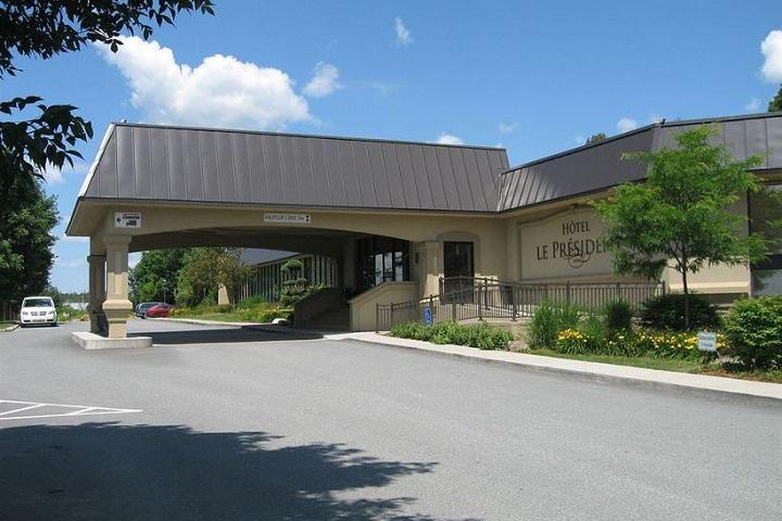 L'Hôtel Le Président Sherbrooke Cantons-de-l'Est