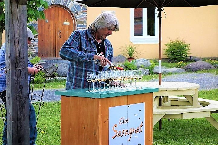 Vignoble ,Clos Saragnat ,oenotourisme ,visite de vignobles ,cépages ,dégustation ,Cantons de l'Est ,Estrie ,Sélection Vindici ,Sud du Québec ,