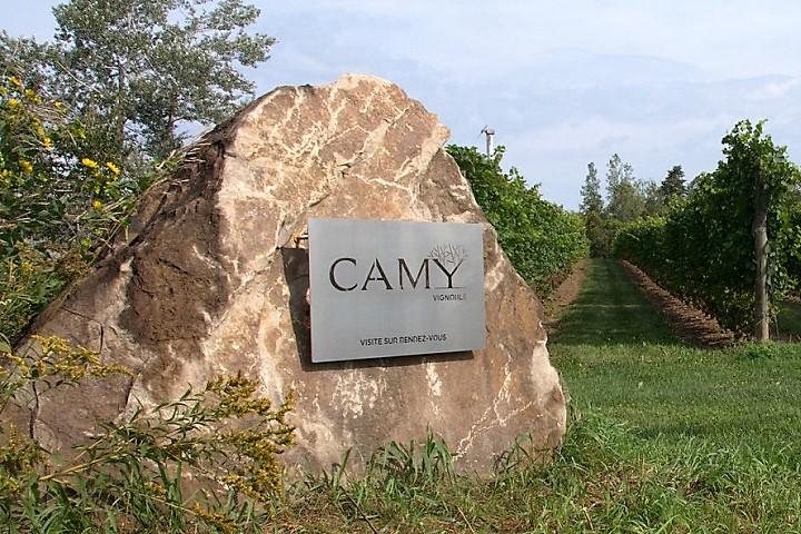 Vignoble Camy ,oenotourisme ,visite de vignobles ,cépages ,dégustation ,Montérégie, Sélection Vindici ,Sud du Québec ,