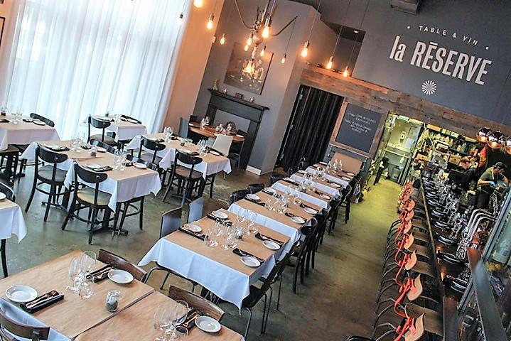 La Réserve ,oenotourisme ,restaurant ,brasserie ,pub ,Montréal ,Sélection Vindici ,Sud du Québec ,