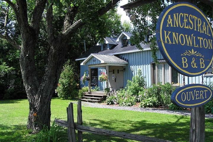 Ancestral Knowlton – Hébergement Cantons de l'Est hôtels, auberges, gîtes et B&B