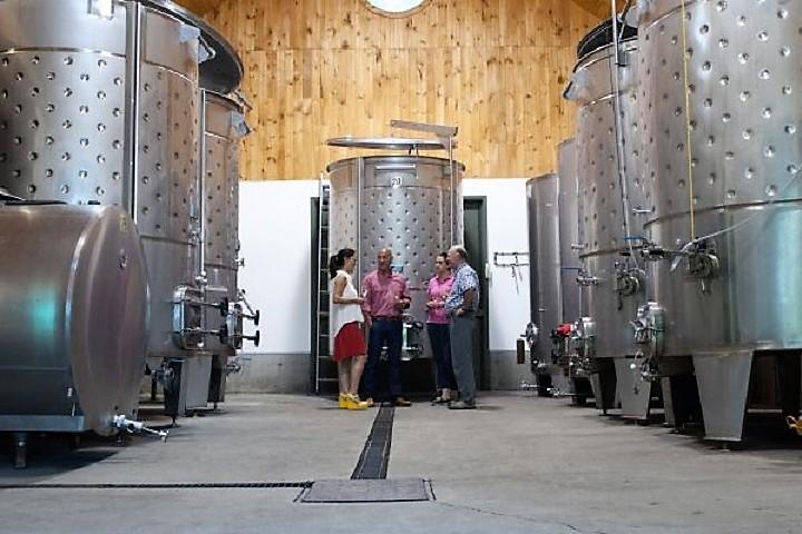 Vignoble Chateau de Cartes tourisme du vin – Zone Viticole Dunham - St-Armand Cantons de l'Est