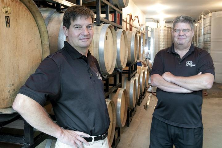 Vignoble Le Cep d'Argent tourisme du vin – zone viticole Magog - Orford Cantons de l'Est