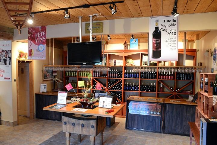 Vignoble Gagliano tourisme du vin – Zone Viticole Dunham - St-Armand Cantons de l'Est