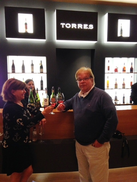 André Giroux ,Vindici ,Oenotourisme ,Penedes ,Espagne ,Torres ,