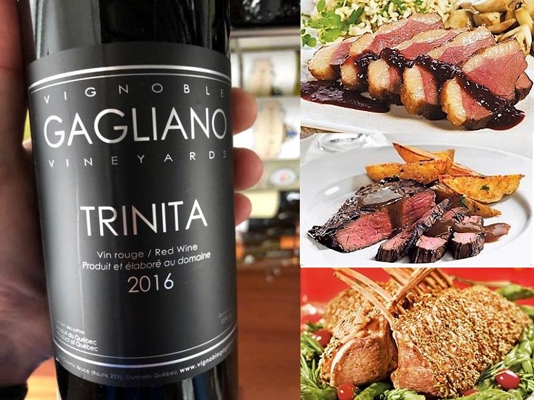 Trinita #classesdevins #stebuc #vindici123 #vignoblegagliano #vinsqc #vinsduquebec #vins #vinrouge #saqVignoble