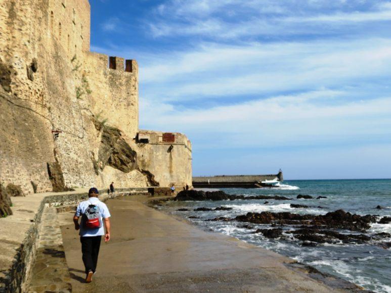 André Giroux ,Vindici ,Oenotourisme ,Collioures ,Roussillon ,France ,